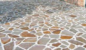 posa pavimento esterno portfido roma