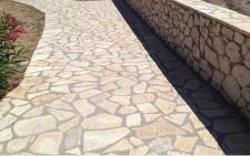 posa pavimento in porfido roma
