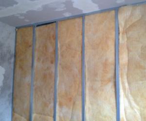 coibentazione pareti in cartongesso lana di roccia