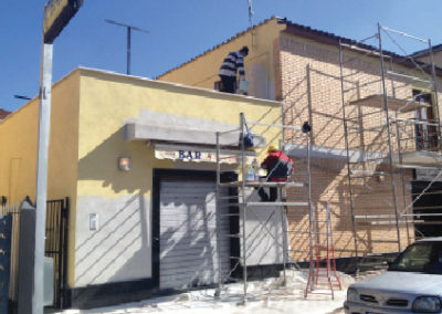 rifacimento facciata esterna roma impresamg