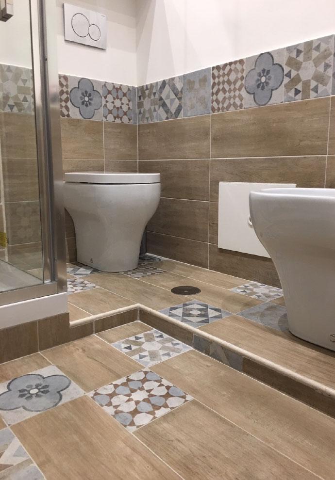 Ristrutturazione bagno roma ristrutturazioni a roma impresa mg - Rifare il bagno del camper ...
