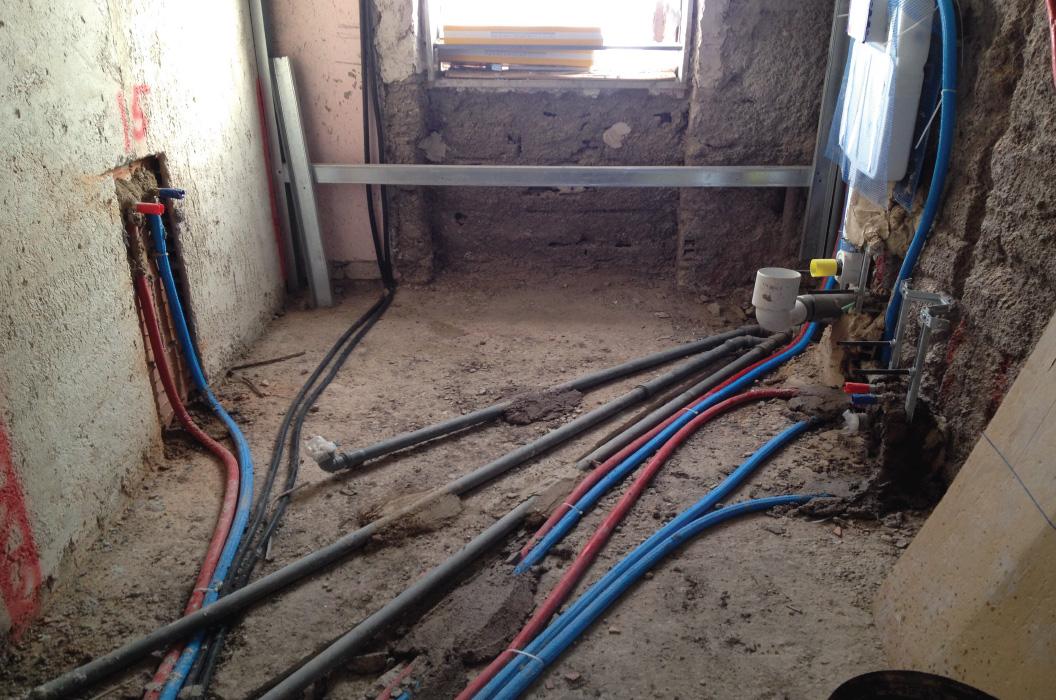 Rifacimento impianto del gas roma - Impianto idraulico del bagno ...